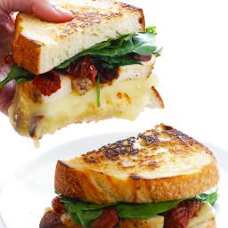 Chicken Florentine Grilled Cheese