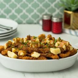 Chicken Fries Poutine Recipe by Tasty