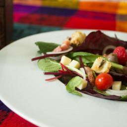 Chicken gizzards salad recipe