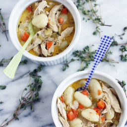 Chicken + Gnocchi Dumpling Soup