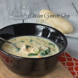 Chicken Gnocchi Soup #SundaySupper