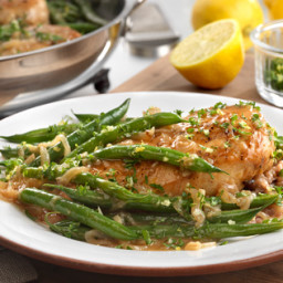 Chicken & Green Beans with Gremolata
