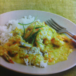 Chicken in Coconut Curry