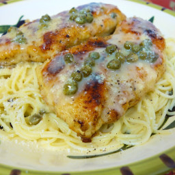 Chicken in Lemon Butter Caper Sauce