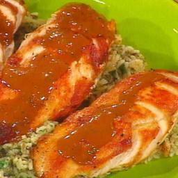 Chicken in Tarragon Cream Sauce, White and Wild Rice with Walnuts