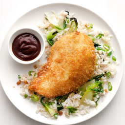 Chicken Katsu with Ginger Rice