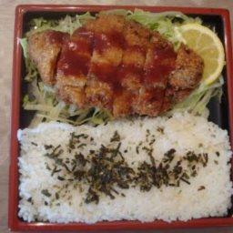 Chicken Katsu with Tonkatsu Sauce