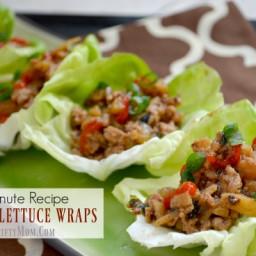 Chicken Lettuce Wraps 15 Minute Recipe