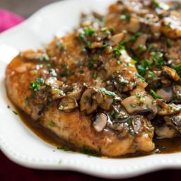Chicken Marsala With Mushrooms and Shallots Recipe