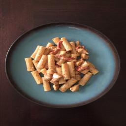 Chicken Mozzarella Pasta with Sun-Dried Tomatoes by LMB
