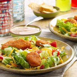 Chicken Nugget Taco Salads