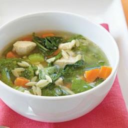 Chicken-Orzo Soup