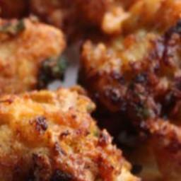 Chicken Pakora or Pakoda recipe: Crunchy Chicken Pakoras (Gluten Free)