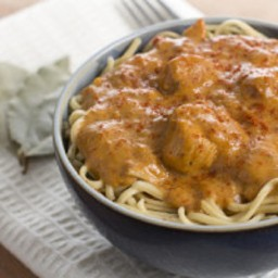 Chicken Paprikash with Sour Cream