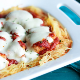 Chicken Parmesan Casserole - Low Carb & Gluten Free
