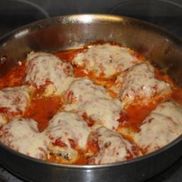 Chicken Parmesan - One Skillet