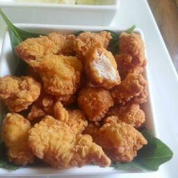 Chicken Popcorn Recipe-homemade popcorn chicken recipe