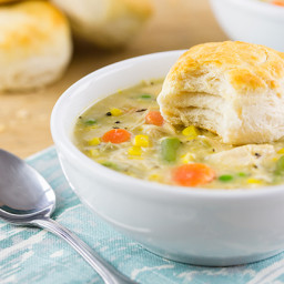 Chicken Pot Pie - Crockpot