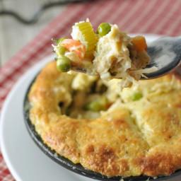 Chicken Pot Pie - Low Carb, Gluten Free
