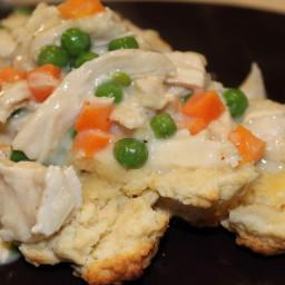Chicken Pot Pie Skillet