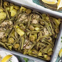 Chicken Potato Green Bean Bake