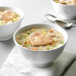 Chicken Potpie Soup Recipe
