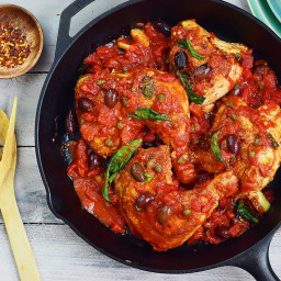 Chicken Puttanesca - Pollo alla Puttanesca