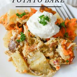 Chicken Ranch Potato Bake