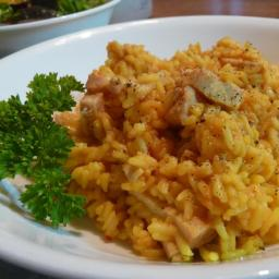 Chicken & Saffron Yellow Rice
