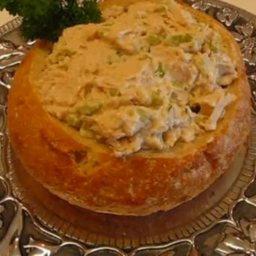 Chicken Salad In Bread Bowl