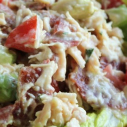 Chicken Salad with Bacon, Lettuce, and Tomato Recipe