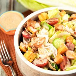 Chicken Salad With BBQ Dressing Recipe