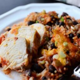Chicken Salsa Casserole