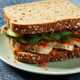 Chicken Satay Sandwiches