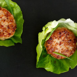 Chicken Sausage Lettuce Wraps