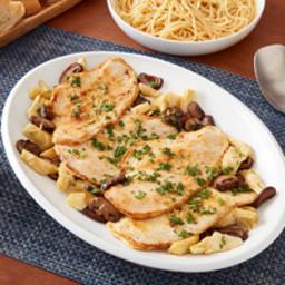 Chicken Scallopini with Mushrooms and Artichokes