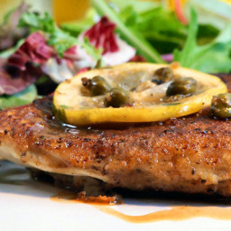 Chicken Scaloppine With Limoncello Sauce