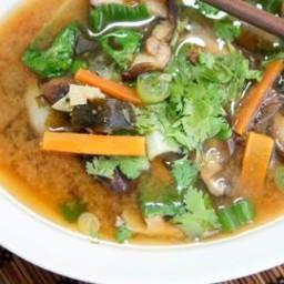 Chicken, Shiitake & Bok Choy Soup