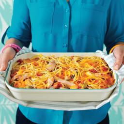 Chicken-Spaghetti Casserole