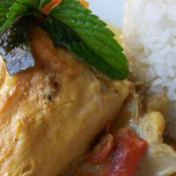 Chicken Stew With Coconut Milk Recipe