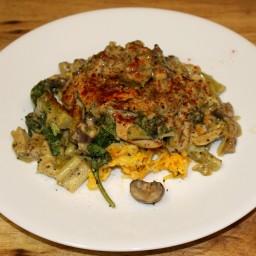 Chicken Tenders with Veggies in Mushroom Sauce