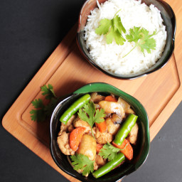 Chicken Teriyaki with Vegetables