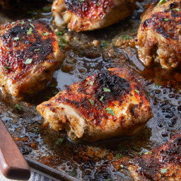 Chicken Thighs With Cumin, Cayenne and Citrus
