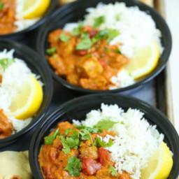 Chicken Tikka Masala Meal Prep