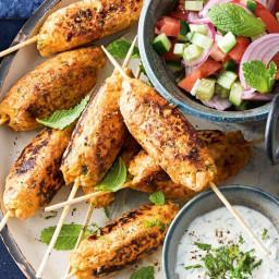 Chicken tikka skewers
