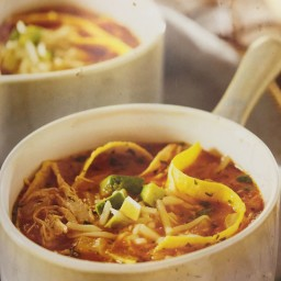 Chicken Tortilla Soup (Crock-pot slow cooker best-loved recipes)