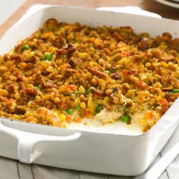 Chicken, Veggies and Stuffing - Healthy