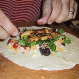 Chicken Verde Burrito