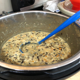 Chicken Wild Rice and Thyme Soup