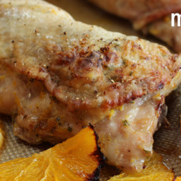 Chicken with Rosemary and Roasted Oranges